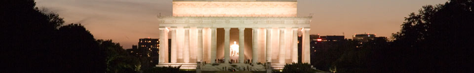 Lincoln Memorial Night Shot