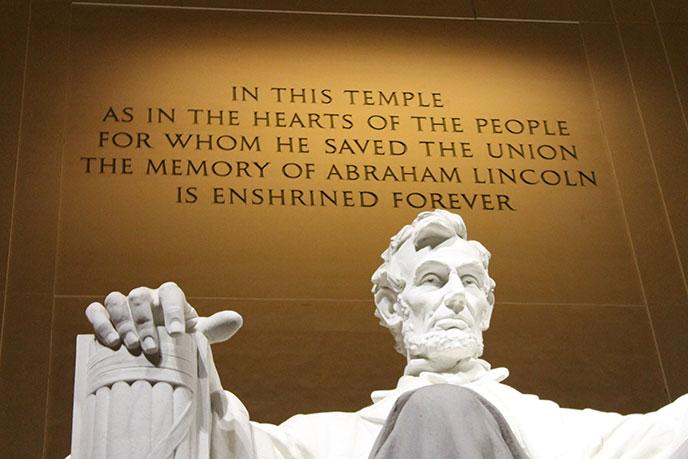 Lincoln Memorial Inscriptions - Lincoln Memorial (U.S. National Park Service)