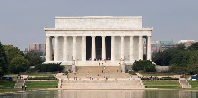 Image result for The Lincoln Memorial usa