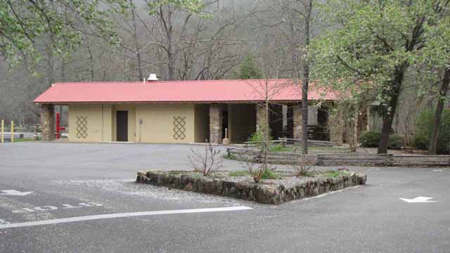 Canyon Mouth Picnic Area Pavilion and Restrooms