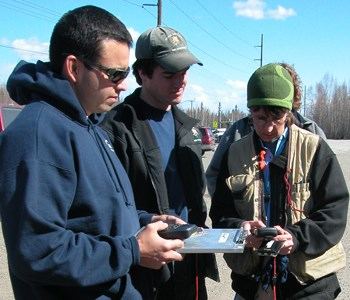 Brushing up on fire ecology skills prior to fire season, 2011
