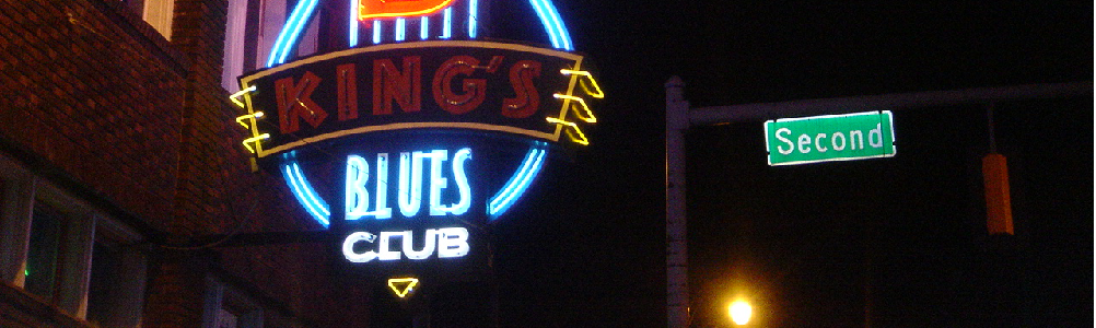 Sign for BB King's Blues Club