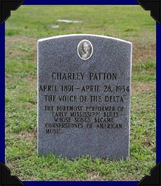 Charley Patton's headstone