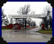Entrance to 'Parchman Farm', the Mississippi State Penitentiary