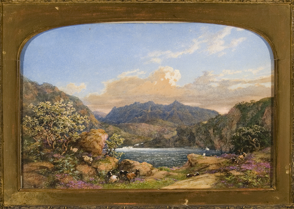 An Irish landscape painting by Fanny Steers.