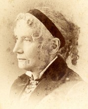 Harriet Beecher Stowe, author of Uncle Tom's Cabin.