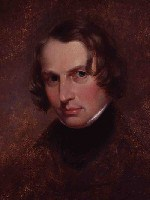 Portrait of Henry Wadsworth Longfellow by Cephas Thompson, 1840.