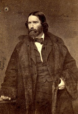 James Russell Lowell, scholar, poet and abolitionist.