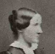 Julia Ward Howe, 1852.