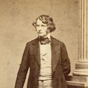 Charles Sumner, Massachusetts senator and abolitionist.