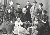 The Longfellow family in Venice, Italy, 1869.