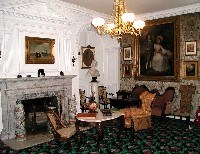 The Longfellow House parlor.