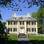 Front view of Longfellow House-Washington's Headquarters National Historic Site