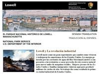 Lowell NHP Brochure- Spanish Translation
