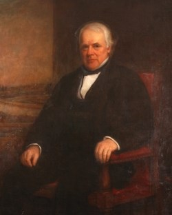 Painting of James B Francis