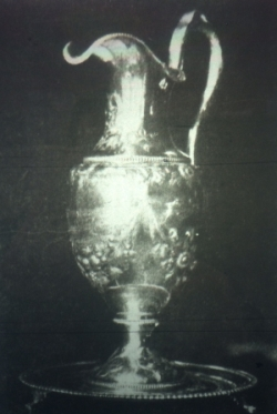 The silver Francis Pitcher