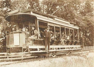 A Historic Trolley Picture From 1908