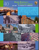 Cover for the Lowell National Historical Park 2017-2018 Annual Report