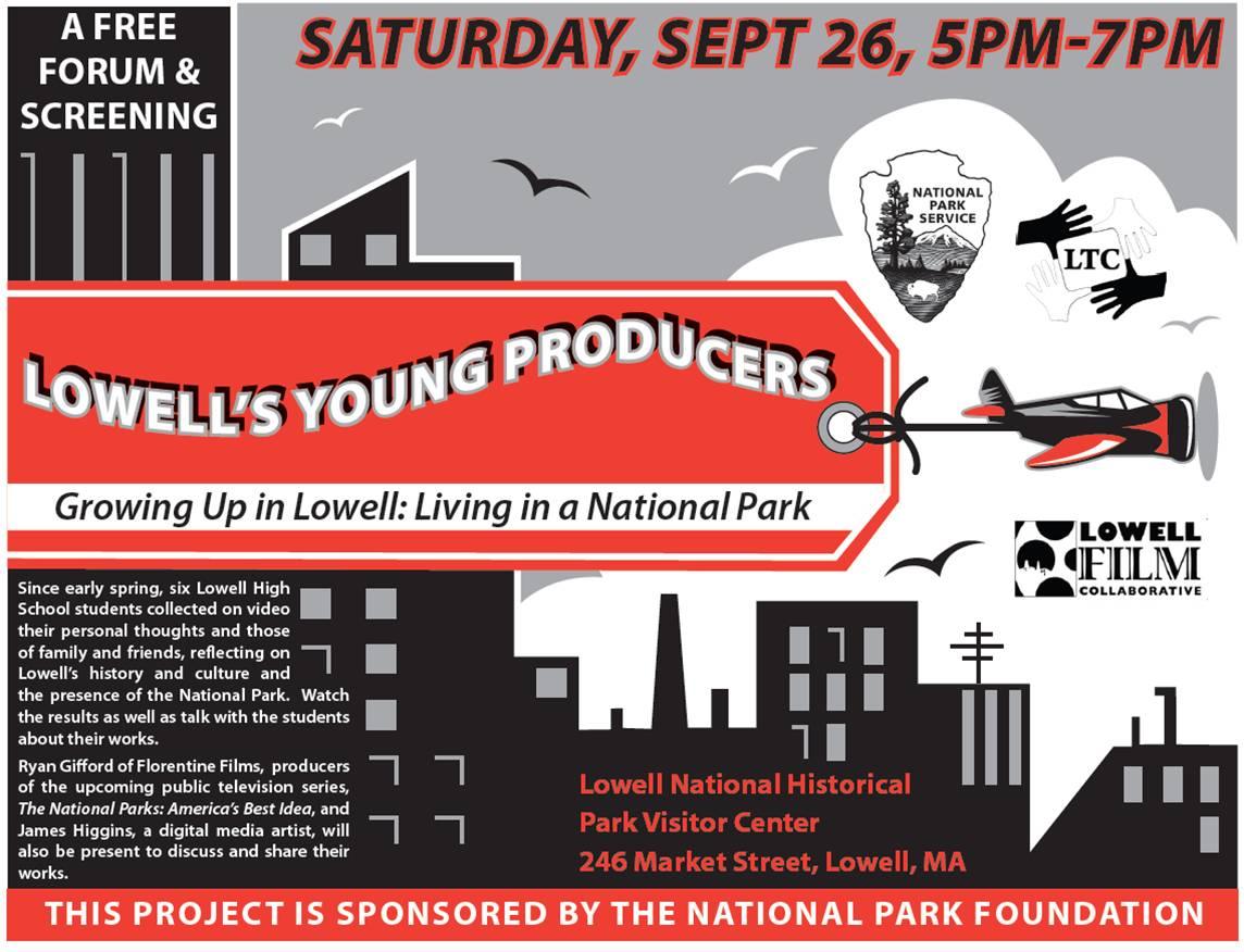 Lowell's Young Producers Forum Poster