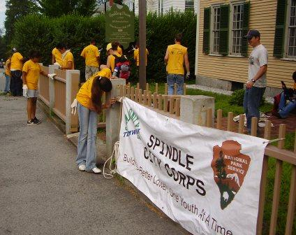 Lowell's Spindle City Corps