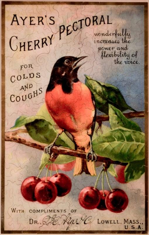 Cherry Pectoral Ad