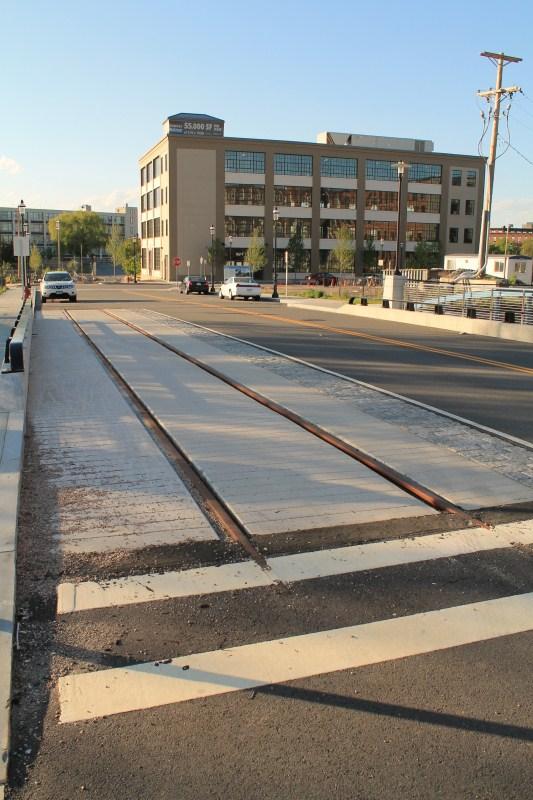 Hamilton Bridge Trolley Tracks