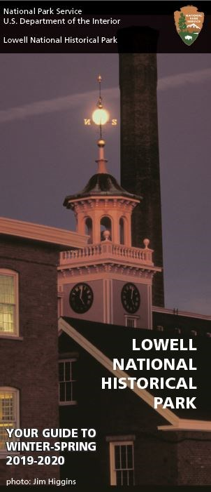 The cover for the Lowell Offering Visitor Guide