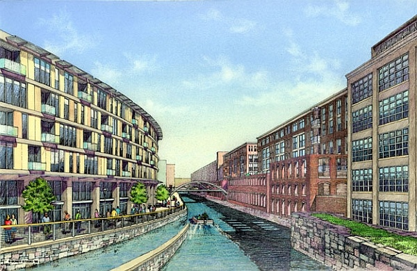 Pawtucket Canal Rendering