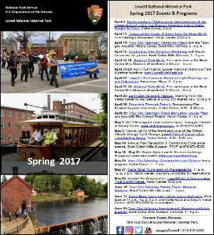 Rack Card with Spring 2017 Events and Programs