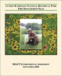 Front Cover of the Fire Management Plan Environmental Assessment