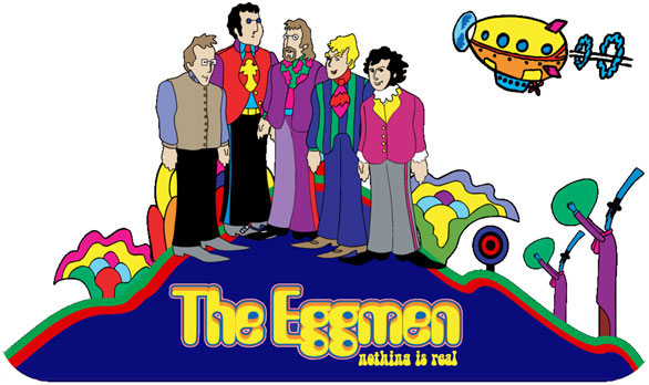 The Eggmen musical group logo