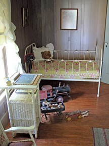 The nursery in the Reconstructed Birthplace