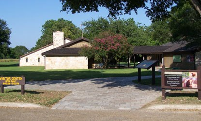 LBJ State Park and Historic Site Visitor Center