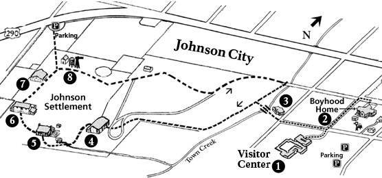 Map of Johnson Settlement