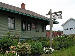 Fort Kent Railroad Station