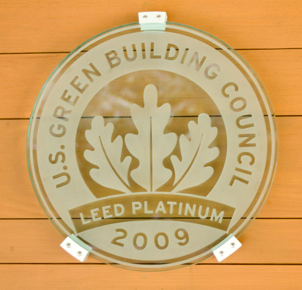 Forest Center LEED Platinum certified building