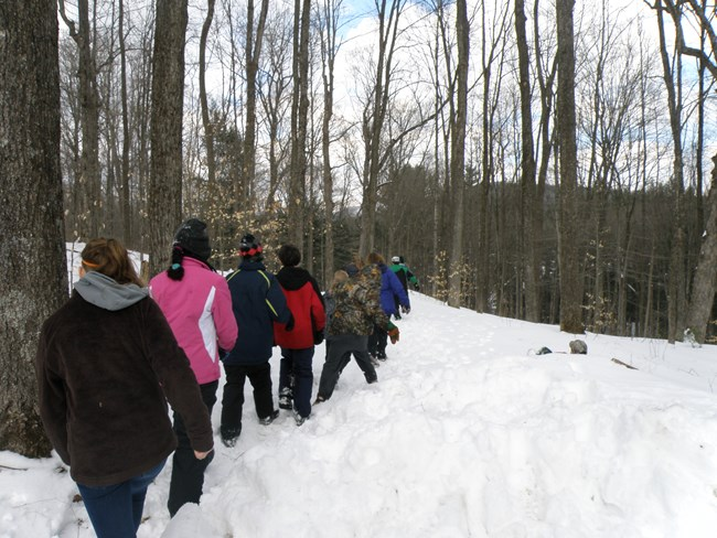 2013 7th Grade Winter Survival Skills Program