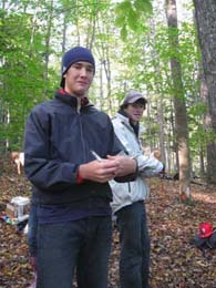 WUHS Students study forest health