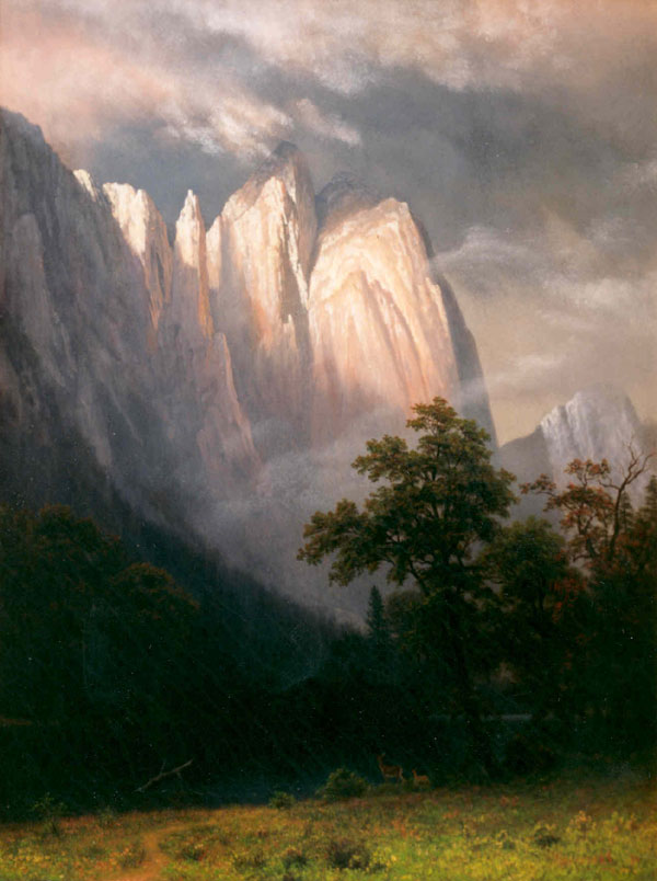 Cathedral Rock by Albert Bierstadt MABI 4162
