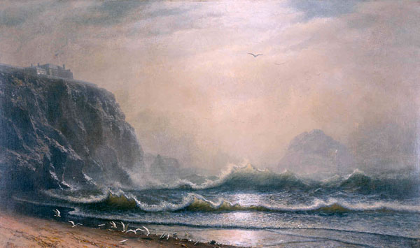 Cliff House by Albert Bierstadt MABI 4422