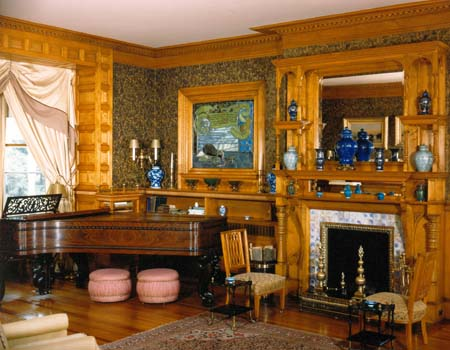 Mansion parlor