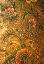 MABI 10542, Embossed Wallpaper, c. 1886