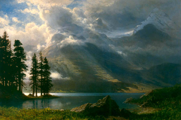Albert Bierstadt Scenery in the Tetons MABI