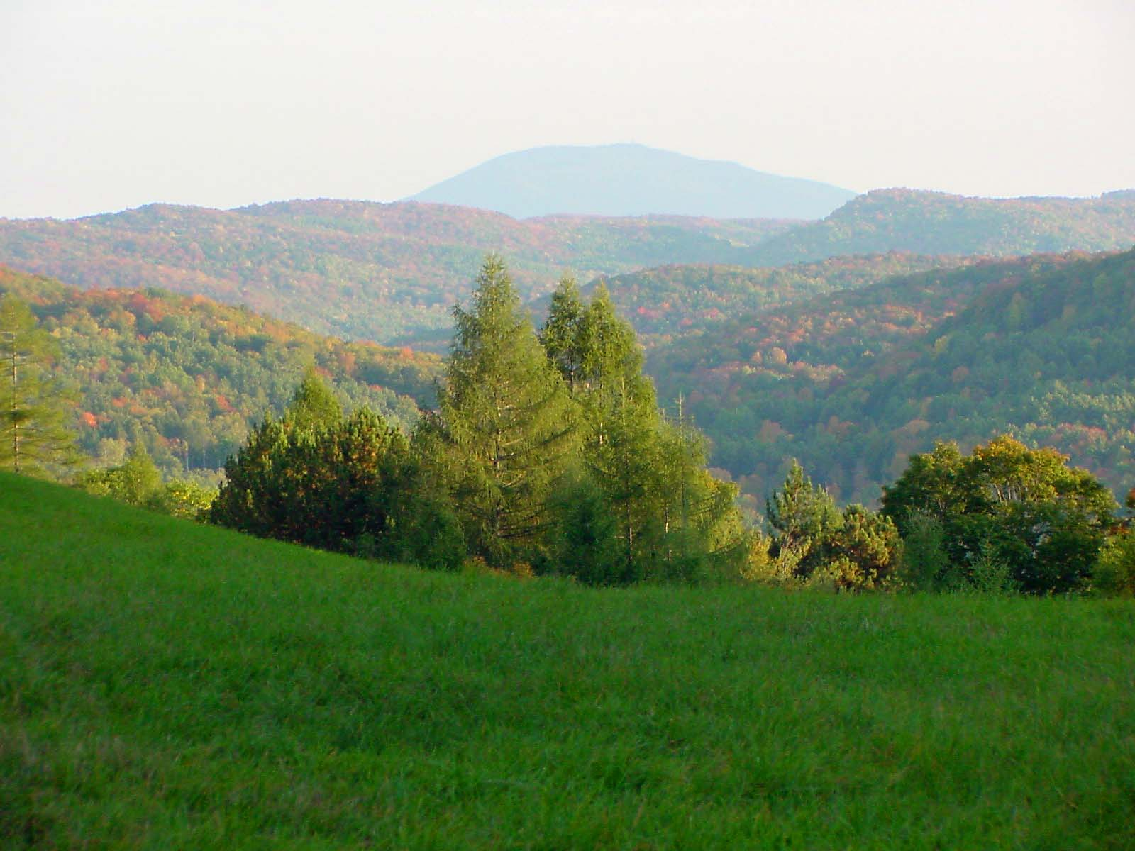 View of Mount Ascutney from the French Lot