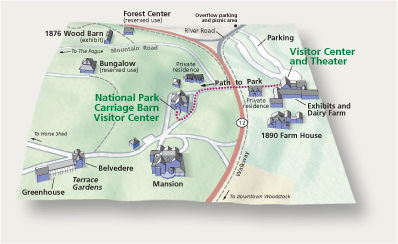 Map of Park - general
