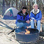 Campers at the Mammoth Cave Campground