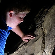 Kid in Mammoth Cave