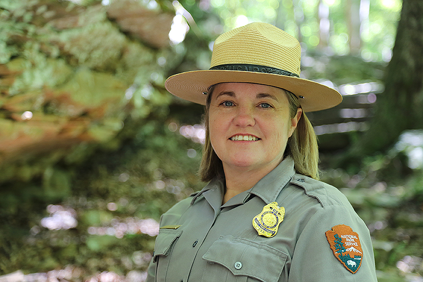Chief Ranger Lora Peppers