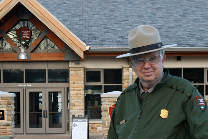 George Bruce Corrie retires from Mammoth Cave National Park.