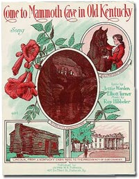 Cover of sheet music -